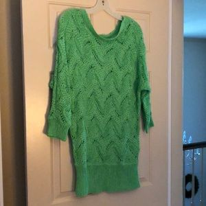 Lilly Pulitzer sweater in green size m/l